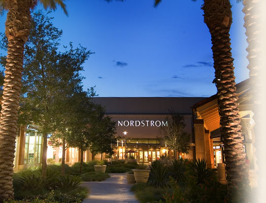 one of the entrances to nordstom at the shops at la cantera