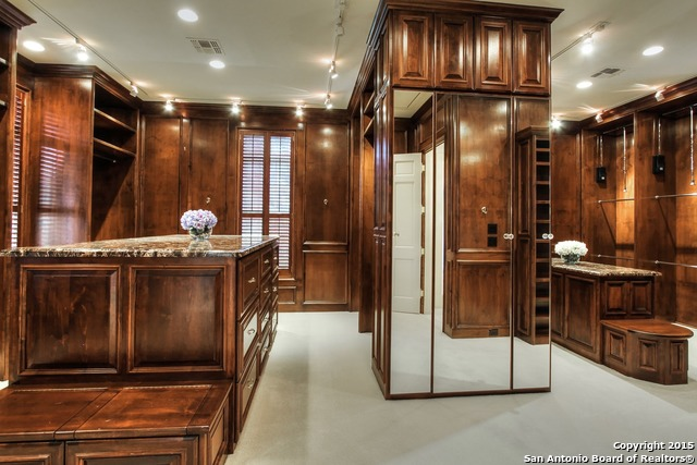 San Antonio, 78232. This Recently Upgraded Home Features A Jaw Dropping  Closet With Elegant Wooden Touches And Sleek Granite Countertopsu2014100% Custom  Made.