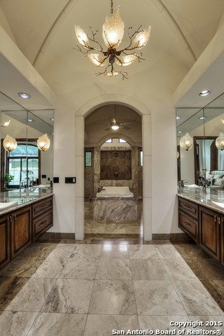 This Spa Like Bath And Closet Space With Dual Floating Vanities, Walk In  Shower And Generously Sized Custom Closet Will Leave You In Awe.
